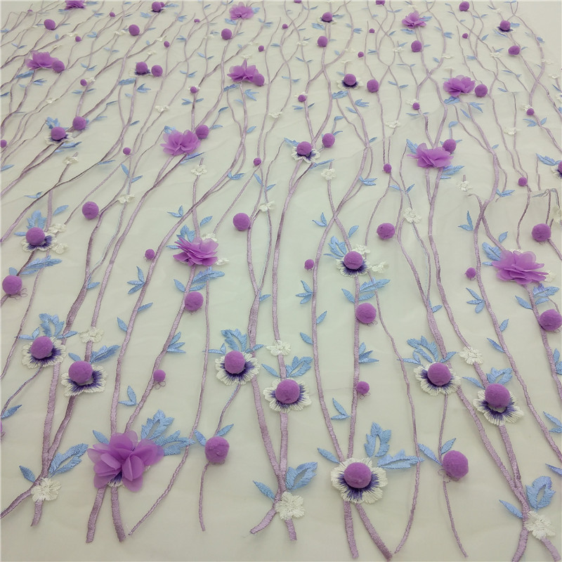Lace Fabric Special Fabric LF-M-00025